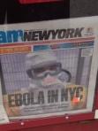 Ebola hits NY headline