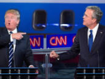 Trump & Bush in debate