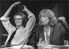 Jim Braude and Barbara Anderson
